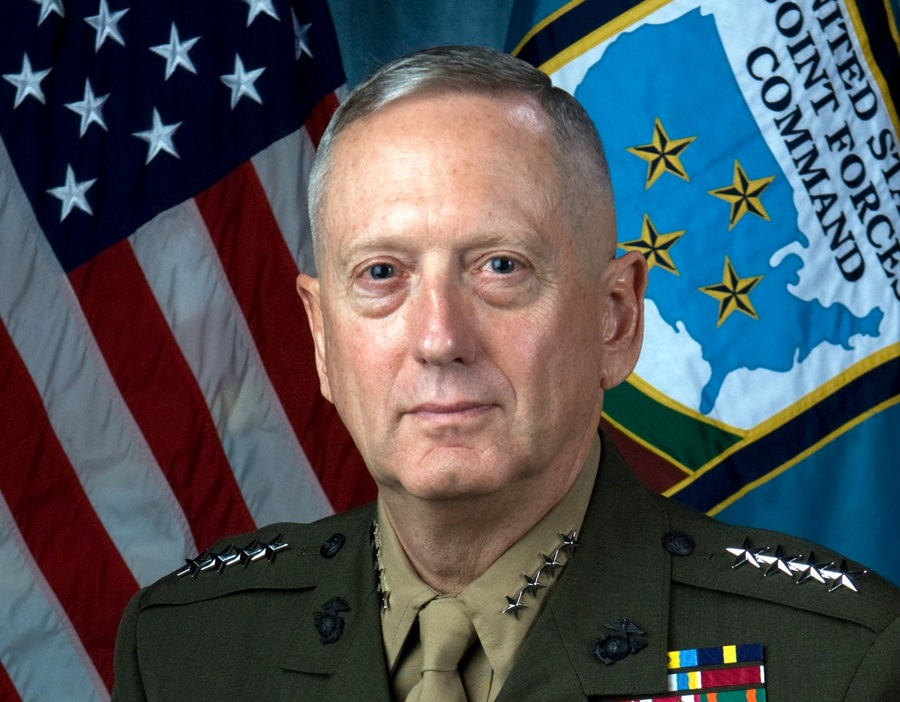 November 15, 2007 - United States: James Mattis, Commander of the US Joint Forces Command. Defense Secretary Robert M. Gates has recommended to President Barack Obama that he nominate Marine Corps Gen. James N. Mattis, commander of U.S. Joint Forces Command, to succeed Army Gen. David H. Petraeus as commander of U.S. Central Command. On Dec. 1, 2016, US President-elect Donald Trump announced that Mattis would be nominated to serve as Secretary of Defense in the coming administration., Image: 307338374, License: Rights-managed, Restrictions: , Model Release: no, Credit line: Profimedia, Polaris